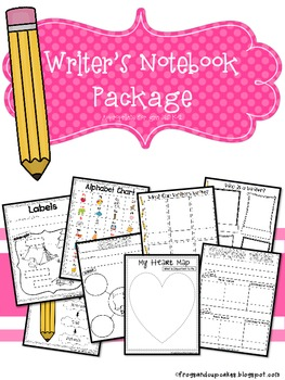 Writer's Notebook Package {K-2}