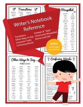 Writer's Notebook Reference
