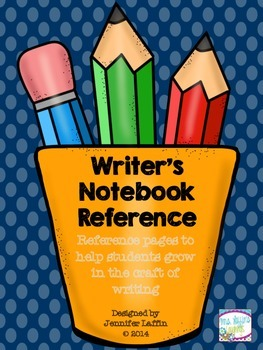 Writer's Notebook Reference -- Helping Students Grow in the Craft of Writing