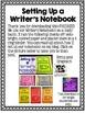 Writer's Notebook Set Up FREEBIE