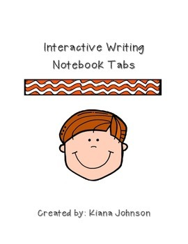 Writing Notebook Tabs