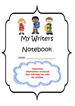 Writers Notebook Template Sheets