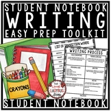 Student Writing Notebook Toolkit for Writers Workshop