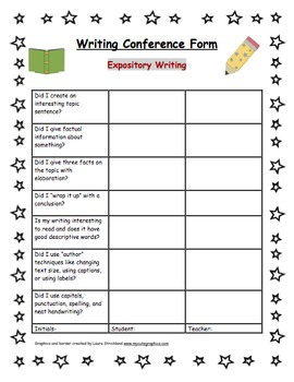 Writer's Notebook with Self-Assessing Rubric/Conference Forms