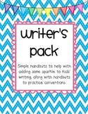 Writer's Pack--Word Choice and Conventions Practice