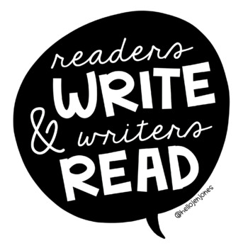Writers Read & Readers Write Poster