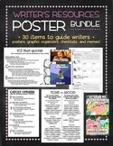 Writer's Resources bundle: posters and handouts for a writer's corner