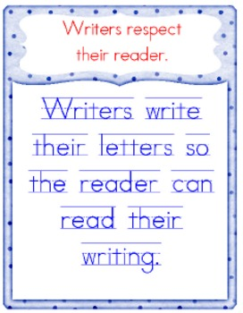 Capital and Lowercase Letters - Handwriting