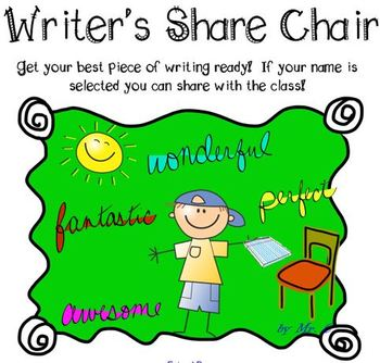Writer's Share Chair