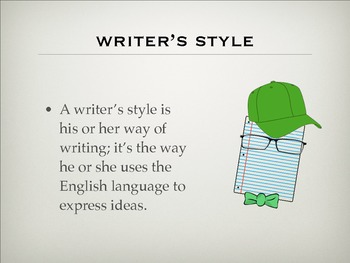 Writer's Style
