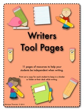 Writers Tool Pages