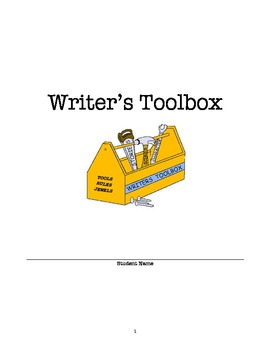 Writer's Toolbox - A Packet of Writing Information for Students To Use