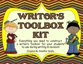 Writer's Toolbox Kit!  All You Need To Construct Boxes for Writing & Revising!