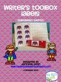 Writer's Toolbox Labels {Superhero Theme}