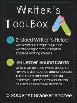 Writer's Toolbox - Tools for Student Writers