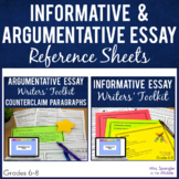 Writers' Toolkit:  Text-Based Essay Outlines, Planning she