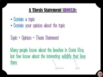 lesson plan about writing a thesis Institute for writing and rhetoric contact us (603) most writing teachers agree that the thesis occupies a very important position.