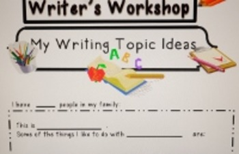 letter topic ideas