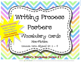 Writer's Workshop 1 - Writing Process Posters and Vocabula