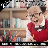 Writers Workshop 2nd Grade Unit THREE