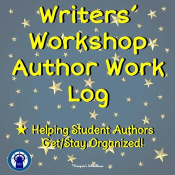 Writers' Workshop Author Work Log