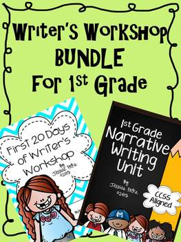 Writer's Workshop BUNDLE for 1st Grade - First 20 Days and