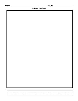 Writers Workshop Beginner Sheet - Hoja para el Taller de Escritores