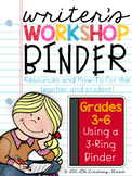 Writer's Workshop Binder