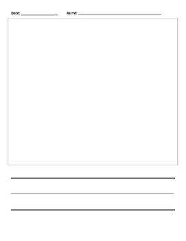 Writer's Workshop Blank Paper