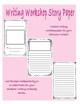 Writers' Workshop Booklets