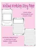 Writers' Workshop Booklets