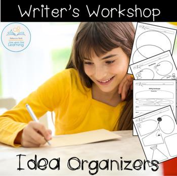 Writer's Workshop Brainstorming Idea Organizers
