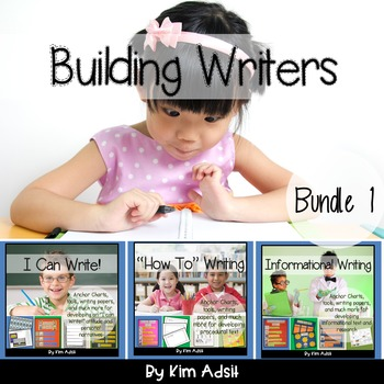 Writer's Workshop: Building Writers Bundle 1 by Kim Adsit