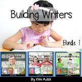 Writer's Workshop: Building Writers Bundle 1 by Kim Adsit