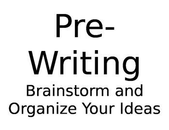 Writer's Workshop Bulletin Set Up