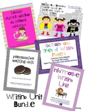 Writers Workshop Bundle Grades 3-5 (CC Aligned)