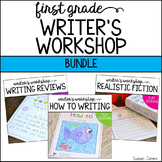 Writer's Workshop Bundle {How to, Writing Reviews, and Realistic Fiction}