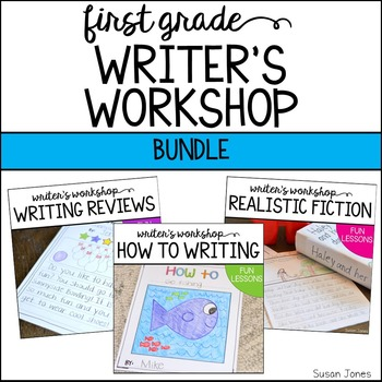 Writer's Workshop Bundle {How to, Writing Reviews, and Rea