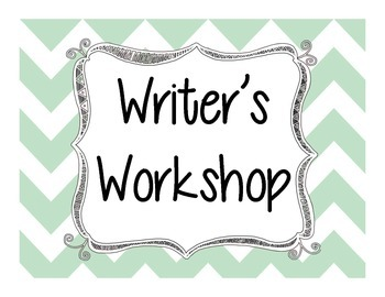 Writer's Workshop Clip Card Stations