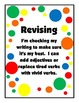 Writer's Workshop Clip Card Stations Polka Dot-