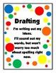 Writer's Workshop Clip Card Stations Polka Dot-