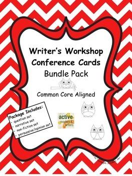 Writer's Workshop Conference Cards Bundle Pack