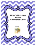 Writer's Workshop Conference Cards: Fiction