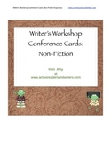 Writer's Workshop Conference Cards: Non-Fiction