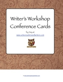 Writer's Workshop Conference Cards