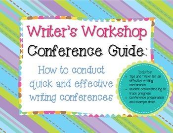 Writer's Workshop Conference Guide