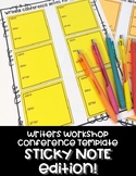 Writers Workshop Conference- STICKY NOTE EDITION