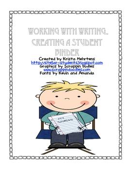 Writer's Workshop.. Creating Student Binders and Portfolios