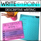 Writers Workshop: Descriptive Writing Unit Posters, Lessons, Anchor Charts