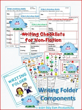 Writers Workshop EDITING Graphic Organizers I am an AUTHOR!